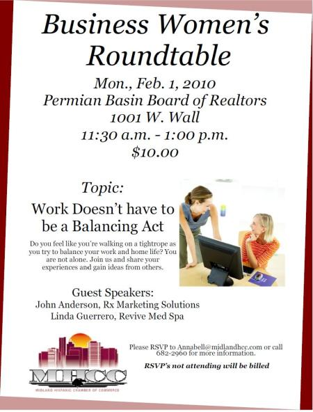 Business Women's Roundtable