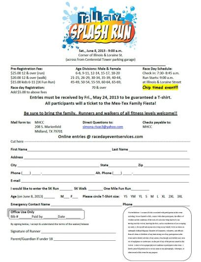 5K SPLASH RUN